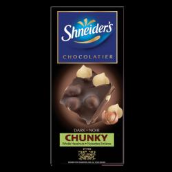 CHUNKY - chocolat noir & noisettes entières