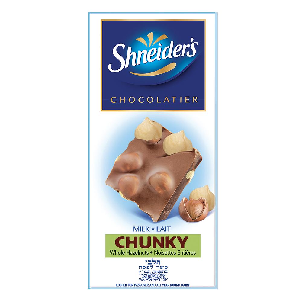 CHUNKY - chocolat au lait & noisettes entières