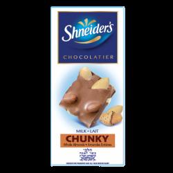 CHUNKY - chocolat au lait & amandes entières