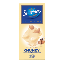 CHUNKY - chocolat blanc & amandes entières