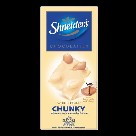 CHUNKY - chocolat blanc & amandes entières