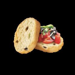 Crostini olives