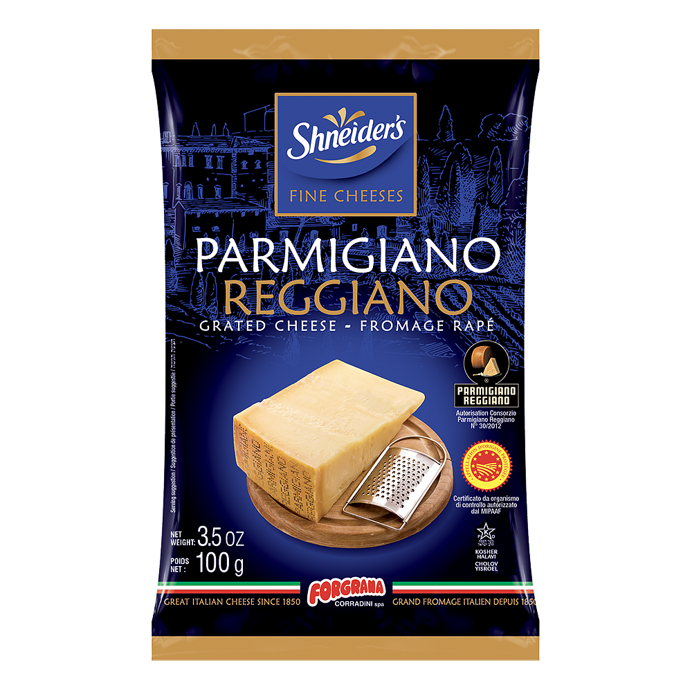 Parmesan - Rapé