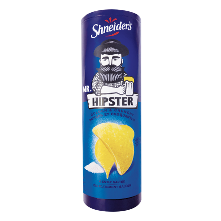 Hipster Chips Tuile Nature