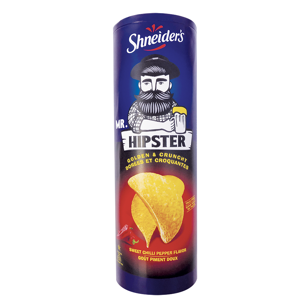 Hipster Chips Tuile Piment Doux