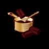 Tablette Dessert Baking - chocolat noir - 5x
