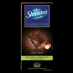 Dégustation - chocolat noir & éclats de noisettes