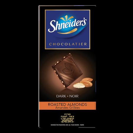 Dégustation - chocolat noir & éclats d'amandes