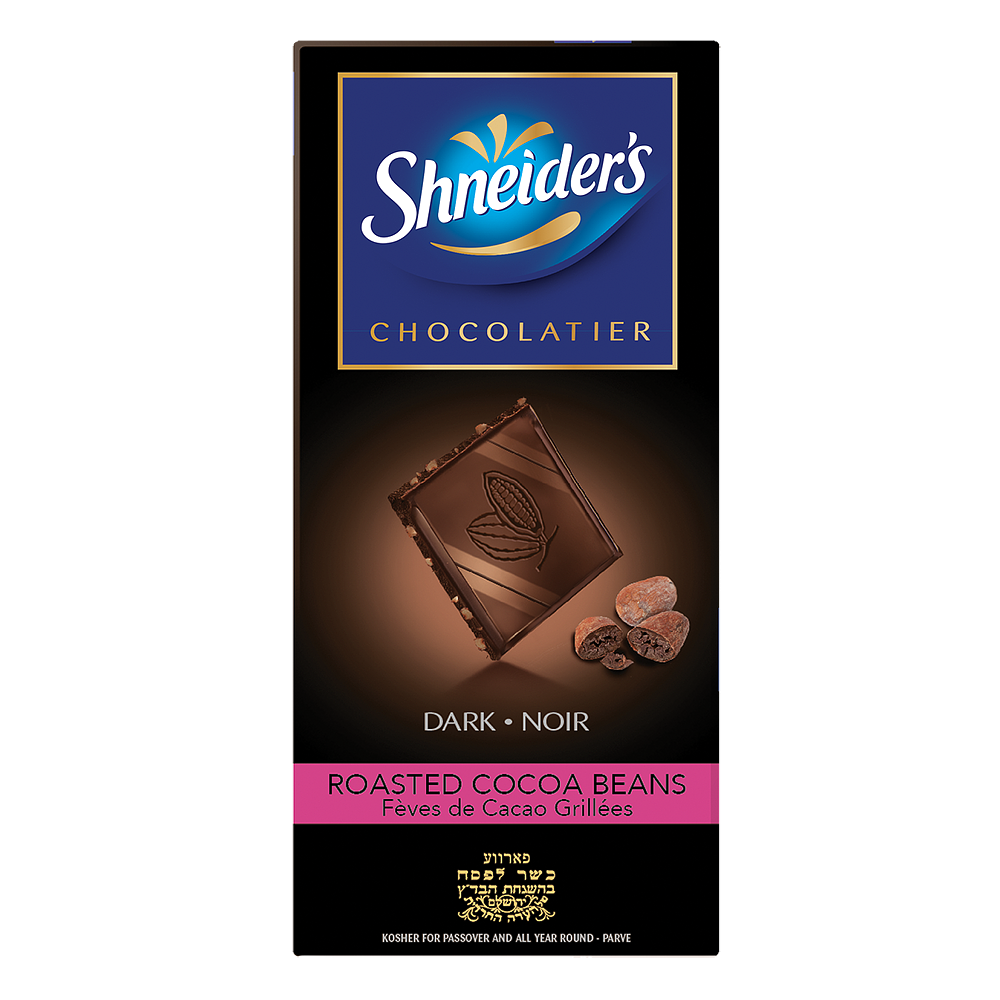 Dégustation - chocolat noir & éclats de fèves de cacao