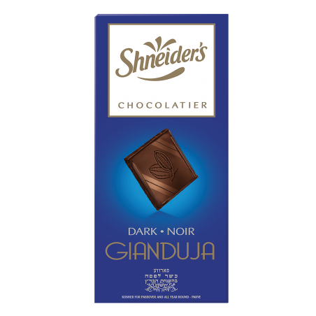 Gianduja Dégustation -  chocolat noir