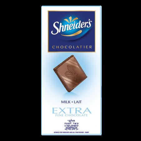 Dégustation Extra - chocolat au lait