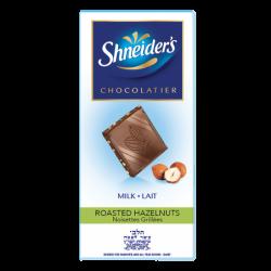 Dégustation - chocolat au lait & éclats de noisettes