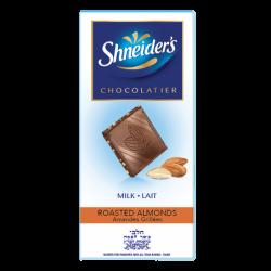 Dégustation - chocolat au lait & éclats d'amandes